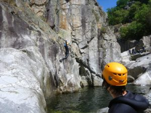 canyoning sport montagne France