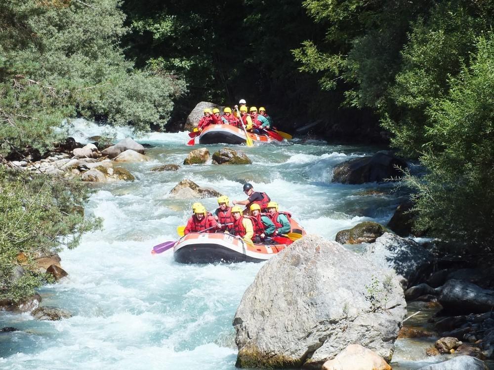 rafting sejour sportif