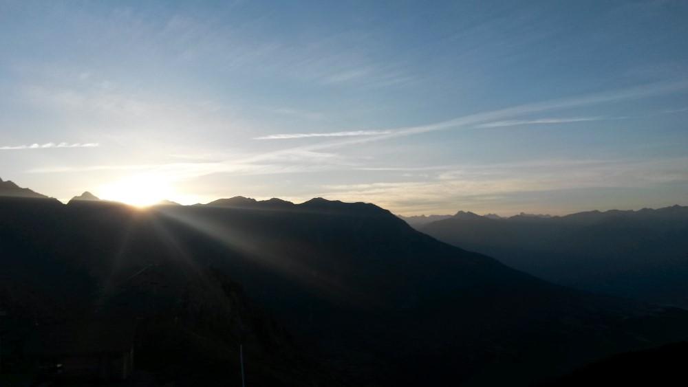 randonnee lever soleil