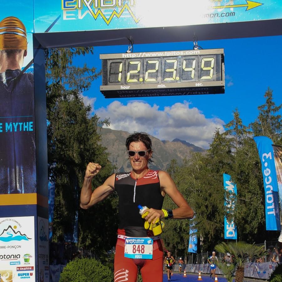 Hugo Embrunman triathlon